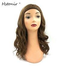 Hstonir группа осенний Кошерный парик по индивидуальному заказу Европейский Remy человеческие волосы еврей бандаосень парик