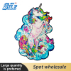 Puzzle Toys for children Wooden Unicorn Puzzle for Kids with Frame DIY Each Piece is Animal Shaped Christmas Gift jouet enfant