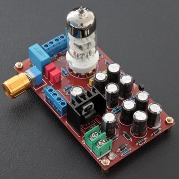 AC 12V 10W 6N3 Tube Buffer Audio Preamplifier Pre-AMP Finished Board YJ0062 meixing mingda mc368 b5 pre bd player hd receiver 5 1 tube pre amp hifi exquis usb file reader multimedia audio decoder