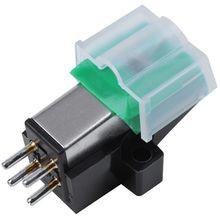 Carbon-Fiber Stylus-Needle AT95E Record-Player for Vinyl Cartridge Gramophone Antistatic