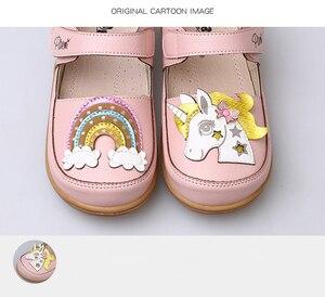 Image 4 - 女の子靴の子供の王女パーティー幼児ユニコーン女の子本革インソールメアリージェーン子供ダンスピンクカジュアルシューズ 2020