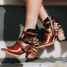 women ankle boots high heels  shoes woman chaussure zapatos mujer   gladiator booties wxz164