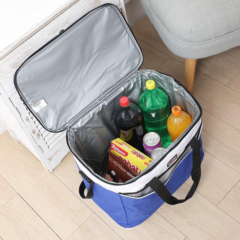 Refrigerador do Piquenique Bloco de Gelo Capacidade de Alta Pacote de Isolamento Nova Refrigerador Bolsa Grande Qualidade Bolsas 36l