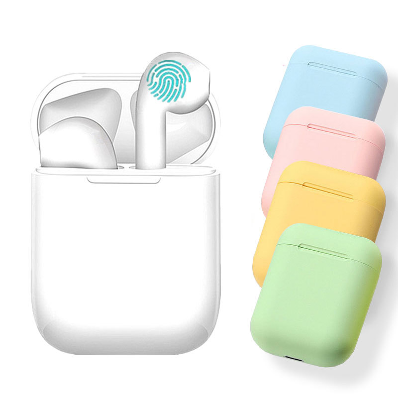 NEW i9s Earphones Inpods 12 I12 Tws Color Pods Wireless Bluetooth Earphone Touch Wireless Headphones Earbuds For Iphone AndroidBluetooth Earphones & Headphones   -