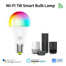 Умная Светодиодная лампа с wi fi и поддержкой alexa google home