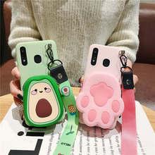 3D Cartoon Cat Zipper Wallet Phone Case For Huawei