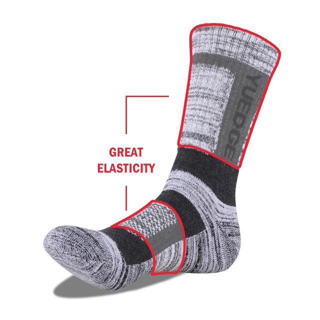 YUEDGE Brand 3 Pairs Cotton Socks 4