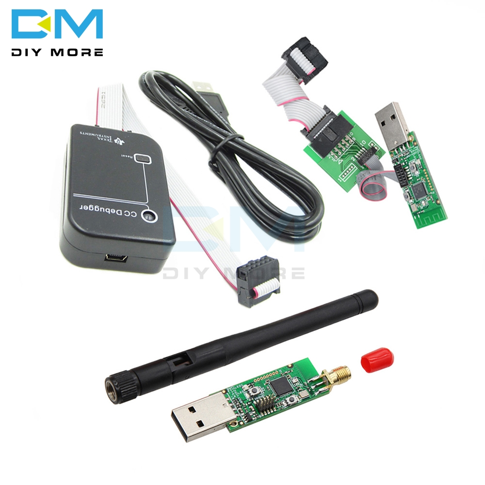 CC Debugger CC2531 Zigbee CC2540 Sniffer Wireless Bluetooth 4.0 Dongle Capture Board USB Programmer Module Downloader Cable