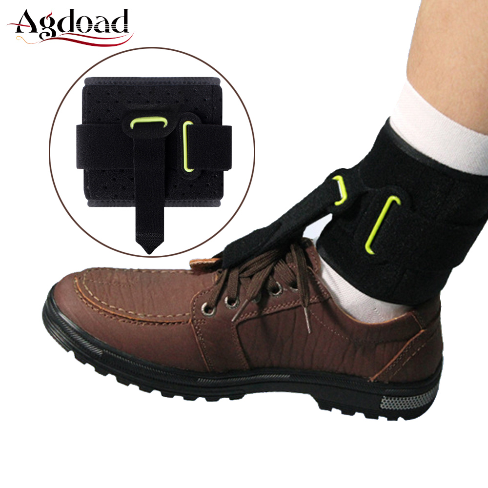 Adjustable Drop Foot Brace AFO AFOs Universal Ankle Support Orthosis Strap Poliomyelitis Hemiplegia Stroke One Size