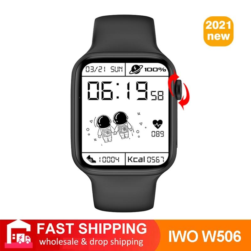 10 PCS 2021 New Smart Watch IWO 13 Lite W506 44 40mm Touch Bluetooth Call Wireless Charging Men Women Smartwatch PK W26 Pro W56