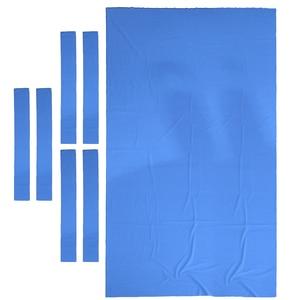 Image 2 - プールテーブルフェルトビリヤード布交換 8 フィートのテーブルのカジュアルプレーヤー選択に最適色