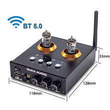 Preamplificatore valvolare 6K4 compatibile Bluetooth HiFi Stereo NE5532 ricevitore Audio lettore musicale USB amplificatore per cuffie WAV/APE/FLAC
