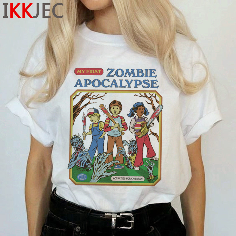 Satan Demon Death Scary Evil T Shirts Women Satanism T-shirt Grim Reaper Baphomet Satanist Horror Tshirt Hip Hop Top Tees Female 1