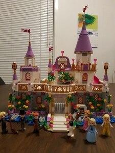 Image 5 - 7 in 1 Prinsen Windsor Castle Compatibel Legoings Vriend Meisje DIY Model Bouwstenen Speelgoed Meisje Kinderen Kerstcadeaus