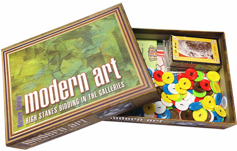 Modern Art Board Game 3-5 Players Family/Party Best Gift For Children Funny Auction Game Send English Instructions
