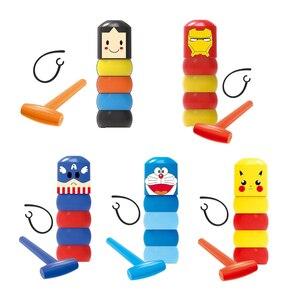 5 models Immortal Daruma Unbreakable Man Magic Toy Magic Tricks Close Up Stage Magic Props Comedy Mentalism Cartoon Characters(China)