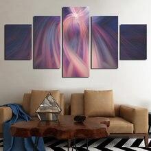 Абстрактный минималистичный разноцветный луч искусство современный