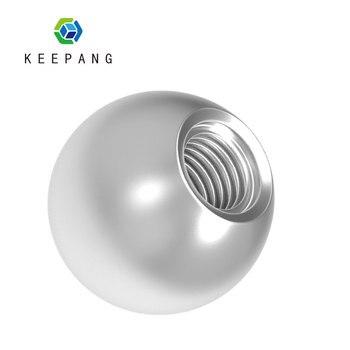 цена на Kee Pang 16pcs 10mm M4 Threaded K800 Steel Ball Bearings Rod End 3D Printer Magnetic Joints Threaded Steel Ball Rod Ends Kossel