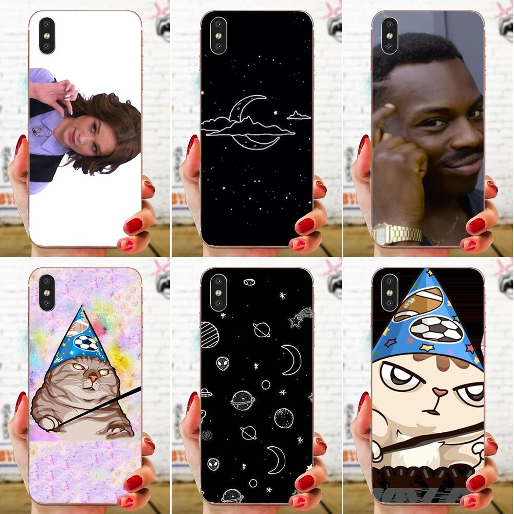 Zhdun Wooing Meme Drawing TPU For Galaxy J1 J2 J3 J330 J4 J5 J6 J7 J730 J8 2015 2016 2017 2018 mini Pro image