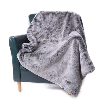 "Battilo Soft Fleece Blanket Winter Warm Faux Fur Blankets All Season Lightweight Thermal Throw for Bed, Sofa or Couch, 50""x60"""