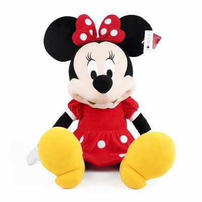 דיסני 30/46/80cm צעצועי קטיפה מיקי עכבר מיני חמוד בובת פרווה בובות PP כותנה חם צעצועים יום הולדת מתנת חג המולד לילדים