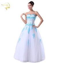 Jeanne Love New Arrival Wedding Dresses 2017 Tulle A Line Sweetheart Colourful Lace Robe De Mariage Vestido Novia JLOV75926