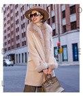 Coat Fur Women s Fem...
