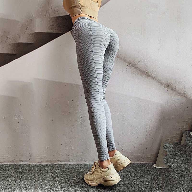Calça esportiva feminina push up, leggings fitness