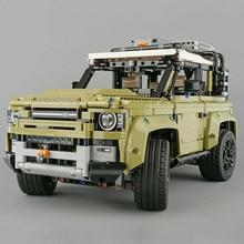 legoinglys Technic Car Series Supercar Land Rover Guardian off-road vehicle Model Building Blocks Bricks Compatible 42110 Toys