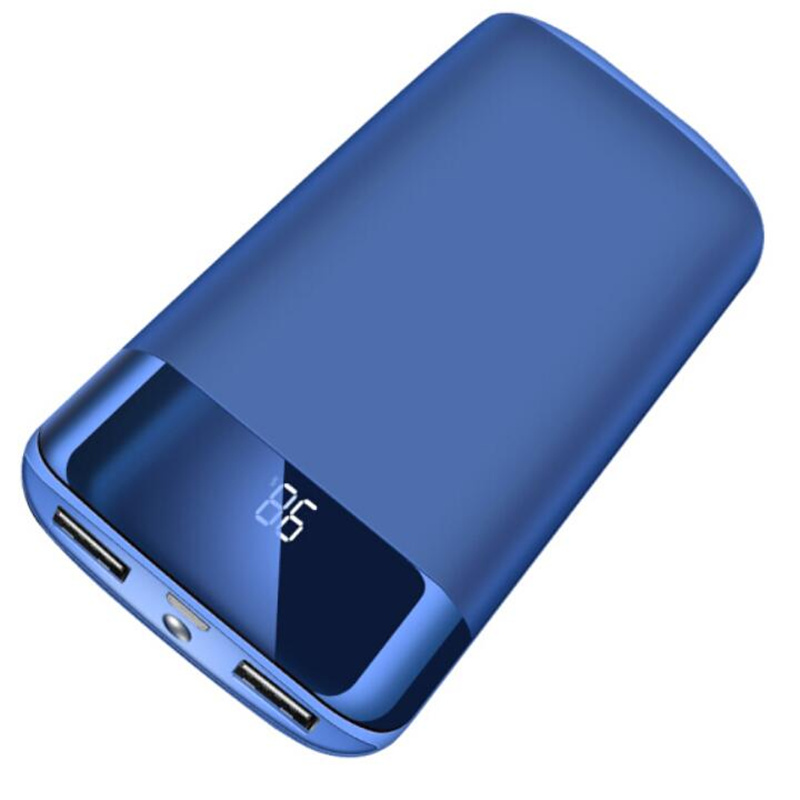 Для Xiaomi MI iphone X Huawei 30000 мАч Внешний аккумулятор внешний аккумулятор повербанк 2 USB портативное зарядное устройство для мобильного телефона