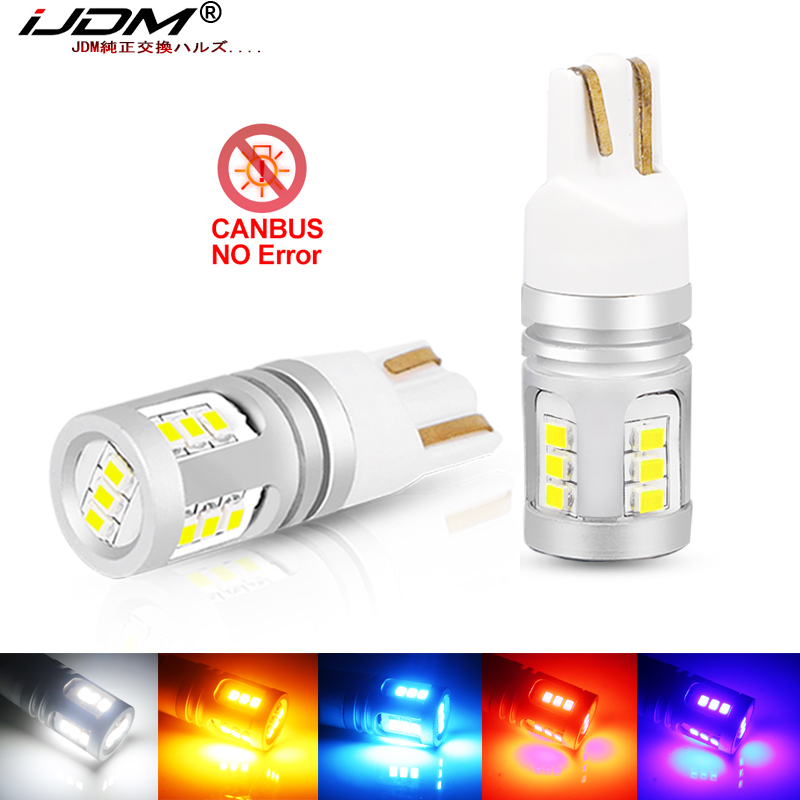 iJDM W5W T10 <font><b>LED</b></font> Lamp Canbus Parking Interior Lights for <font><b>Audi</b></font> A3 <font><b>A4</b></font> A6 A5 8p B6 B8 B7 <font><b>B5</b></font> C6 S3 S4 RS3 TT Quattro Q5 Q7 100 300 image