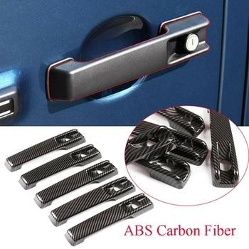 Manija de puerta Exterior de fibra de carbono para Mercedes Benz G Class W463 W464 G65 G55 G63 G500 G550 2019-2020