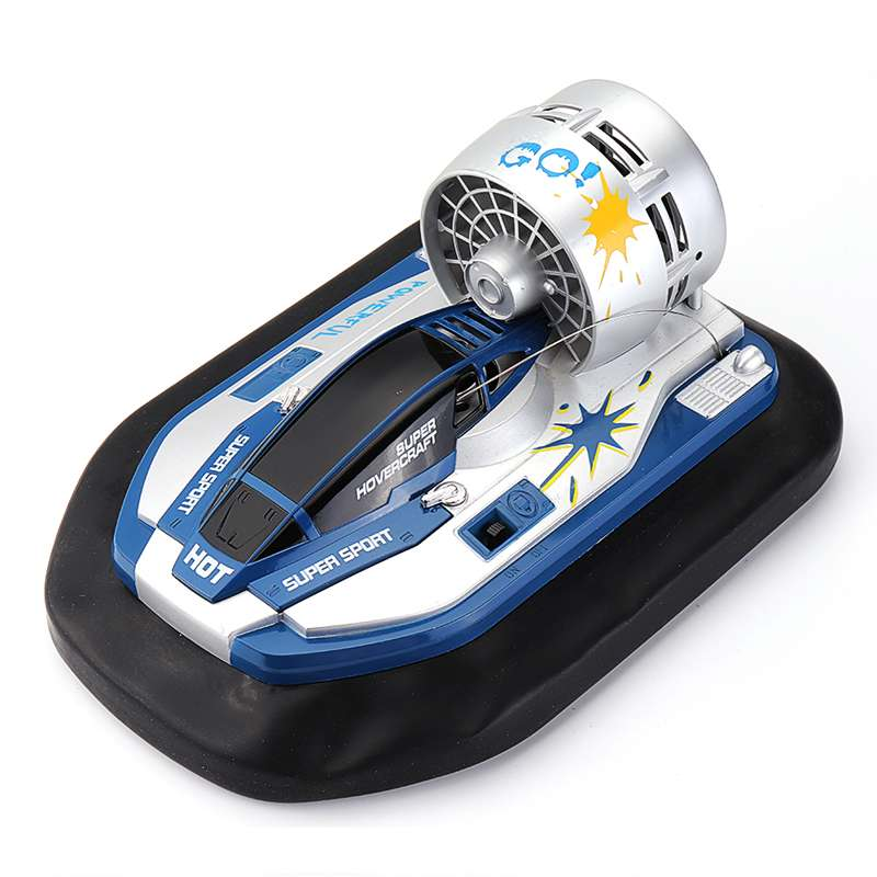 RC Boat HHY7805296 Radio Control Mini 7KM/H 40HZ Brush Motor RC Hovercraft RC Boat Vehicle Models RTR Toys For Kids In 3 Colors
