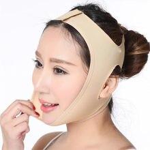 Twarz V Shaper twarzy bandaż wyszczuplający relaks podnieś kształt pasa podnieś zmniejsz podwójny podbródek twarz Thining Band masaż gorąca sprzedaż