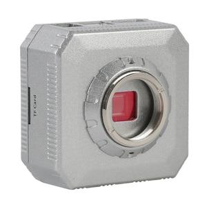 Image 4 - Professionnel numérique HD 30MP 1080P 60FPS USB HDMI industriel vidéo Microscope caméra SD carte enregistreur de stockage + télécommande IR