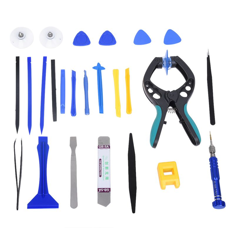 GTBL Professional Mobile Phone Repair Tools Kit Spudger Pry Opening LCD Screen Tool Screwdriver Set Pliers Suction Cup For iPhon