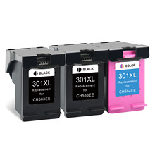 Cartouches d'encre de remplacement pour imprimante HP 301 HP301 XL, pour Deskjet 3050a 3051a 3052a 3054a 3055a 4500 4501 4502