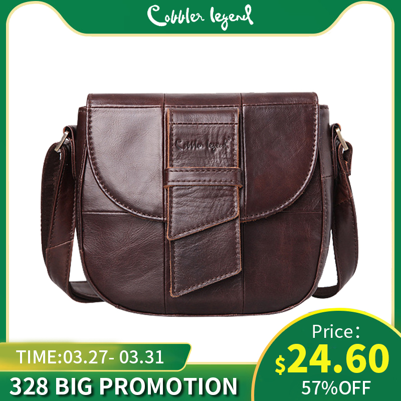 Cobbler Legend Cheap Women Bags Handbags Women's Genuine Leather Designer Bags Female Famous Brand 2019 Hobo Bags For Women