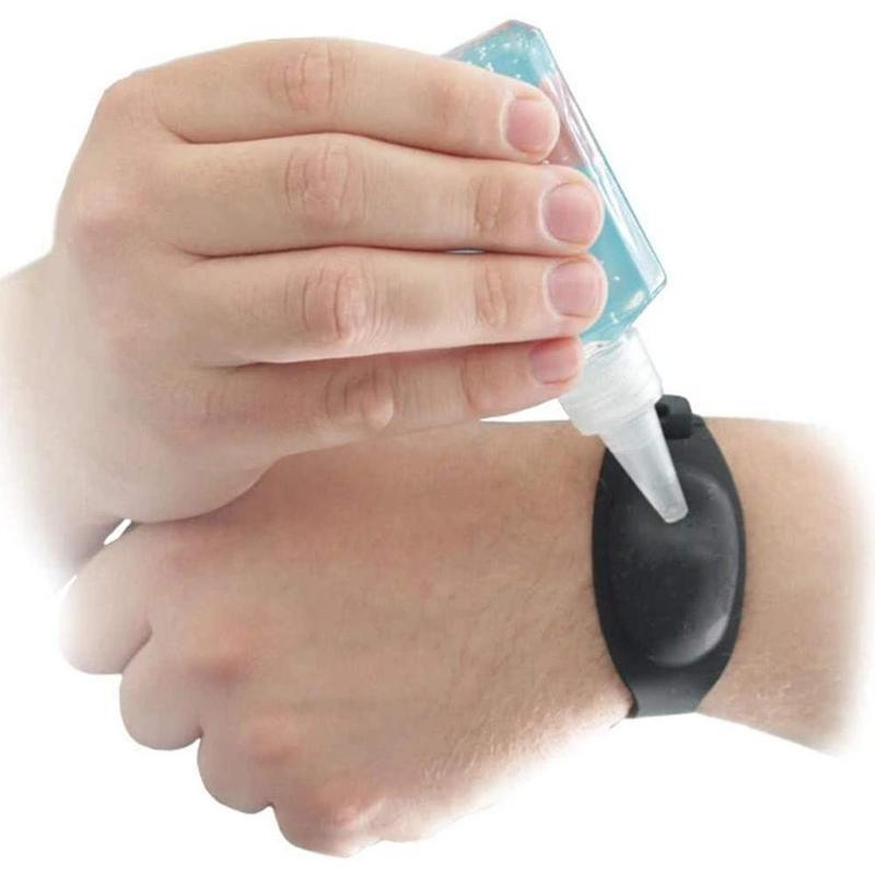 Новый Регулируемый браслет для взрослых или детей диспенсер