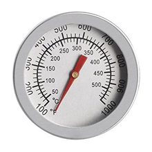 Temperature-Gauge Kitchen-Measuring-Accessories Grill 50--500-Degree Barbecue-Bbq-Pit-Smoker