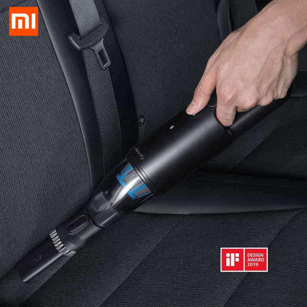XIAOMI MIJIA Cleanfly FVQ Vacuum Cleaner Portable Car Handheld for home Wireless Mini Dust Catcher Strong Cyclone Suction