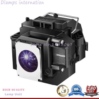 Projektor zastępczy dla tej lampy ELPLP54 V13H010L54 do projektora EPSON 705HD S7 W7 S8 + EX31 EX51 EX71 EB-S7 X7 S72 X72 S8 X8 S82 W7 W8 X8e tanie i dobre opinie for ELPLP54 175W All lamps are tested before shipping 100 NEW lamp with housing within 1-2days after received payment 180 days