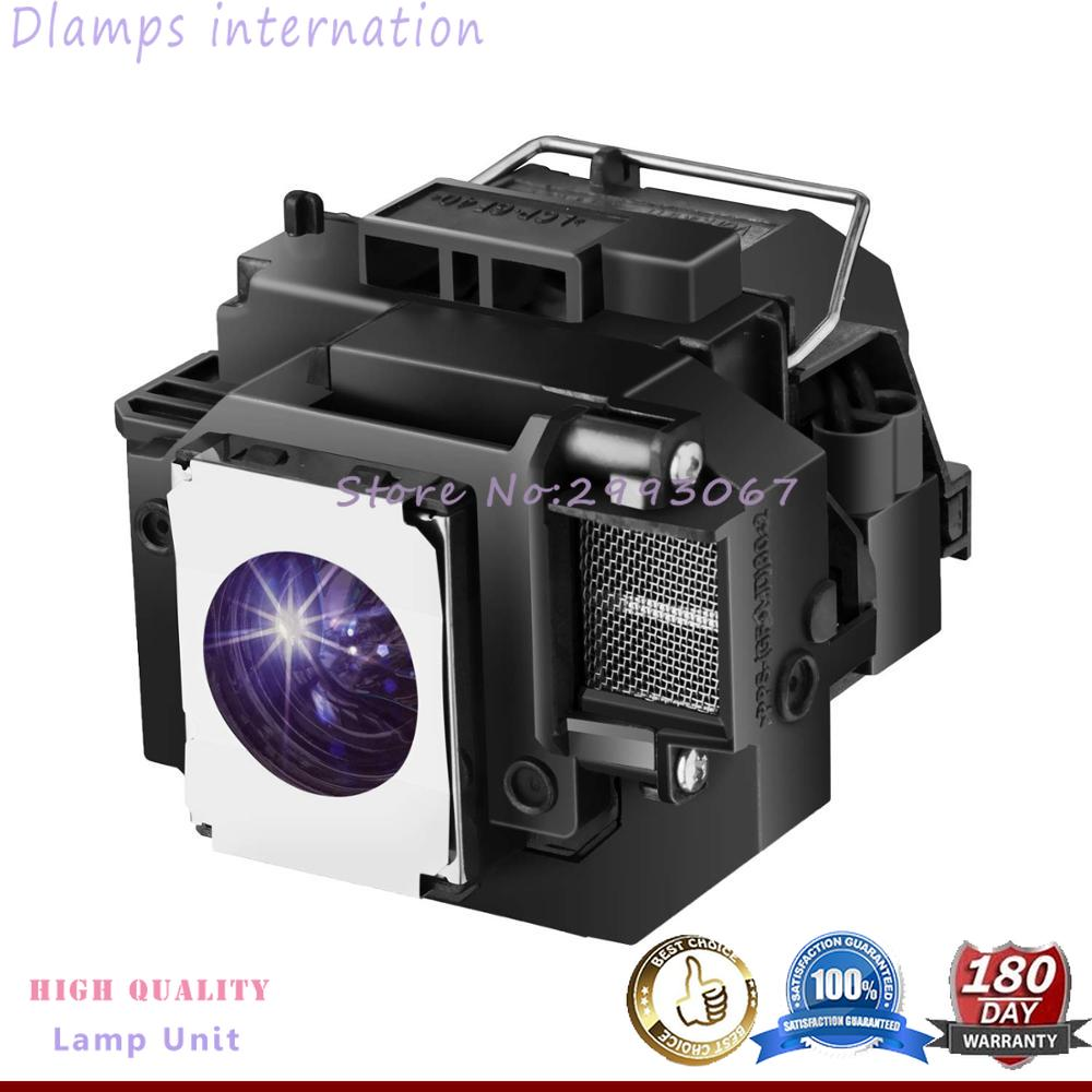 Replacement Projector Lamp for ELPLP54 V13H010L54 for EPSON 705HD S7 W7 S8+ EX31 EX51 EX71 EB S7 X7 S72 X72 S8 X8 S82 W7 W8 X8e-in Projector Bulbs from Consumer Electronics