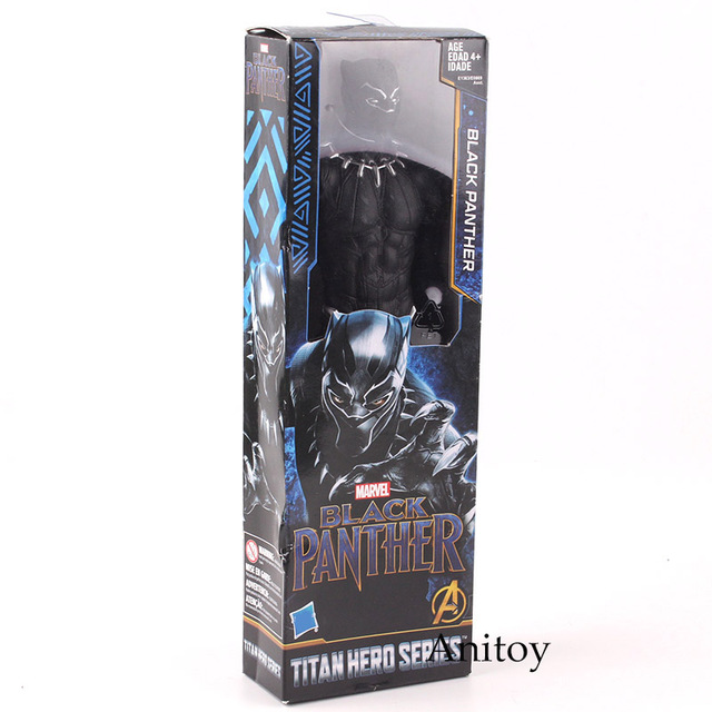 Avengers Infinity War Titan Hero Series Marvel Black Panther Action Figure PVC Collectible Model ToyAction & Toy Figures