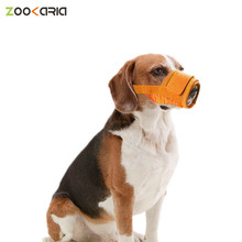 Mask Muzzle Pet-Dog Anti-Stop Chewing Adjustable Large Dog Small Bite Mouth Mesh Bark