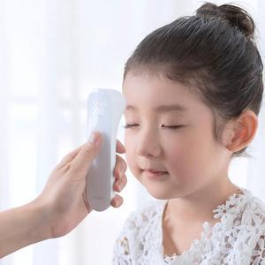 Image 5 - شاومي Mijia iHealth ميزان الحرارة اليد دقيقة الرقمية حمى الأشعة تحت الحمراء السريرية ميزان الحرارة عدم الاتصال قياس LED هو مبين