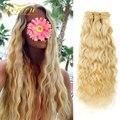 Doreen 200 г волнистые накладные человеческие волосы, 613 волнистые пляжные светлые волнистые волосы для наращивания, натуральные волнистые воло...