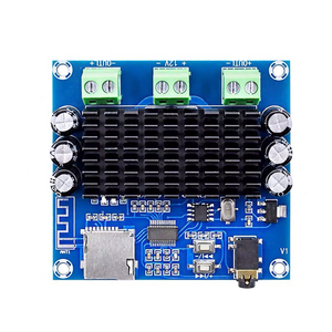 Image 3 - TDA7297 2*15W Bluetooth 5.0 Class AB Amplifier Board Stereo Dual Channel AUX / Bluetooth / TF Card Amp