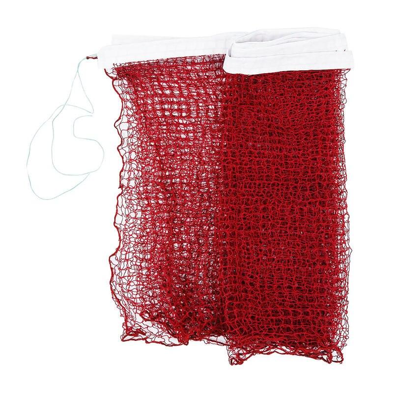 Professional Training Standard Braided Badminton Net 6.0m X 0.75m White Hem