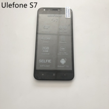 Ulefone S7 Used LCD Display Screen + Touch Screen + Frame For MTK6580 Quad Core 5.0 inch HD 1280x720 Smartphone
